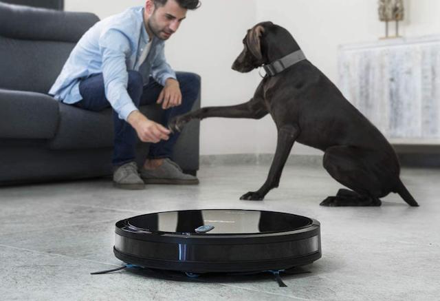 robot aspiradora mascotas